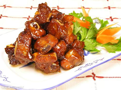 Sườn Xào Chua Ngọt - Món ăn Bắc tại Tùng Thanh Hotel